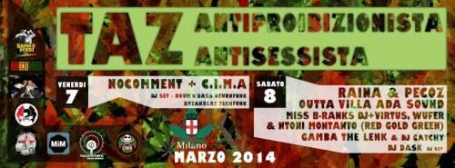 Temporary Autonomuos Zone – Taz Antiproibizionista e Antisessista 7 e 8 Marzo|