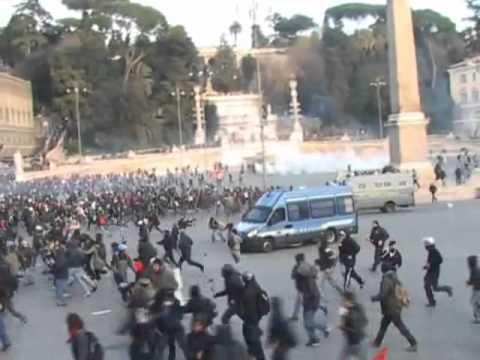 Si apre a Roma il processo per il 14 Dicembre 2010