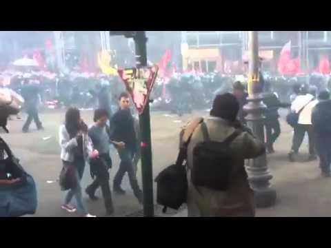 [DallaRete] #12A Diretta dall'assedio: no al jobs act, no al piano casa