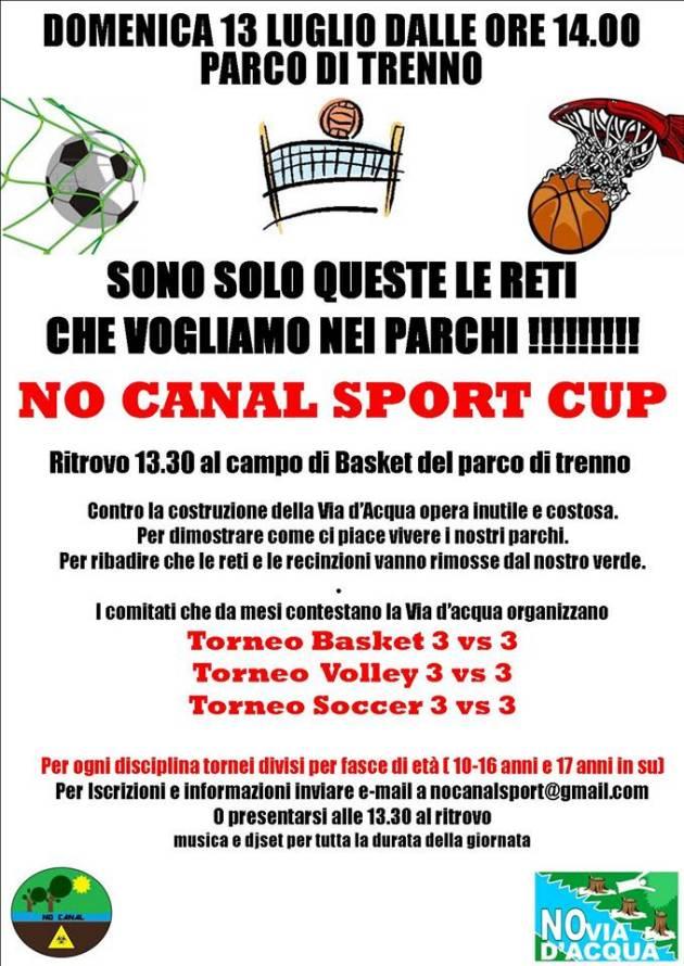 Il 13 Luglio al Parco di Trenno si terrà la No Canal Sport Cup