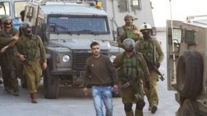 IDF_arrest_palestinian