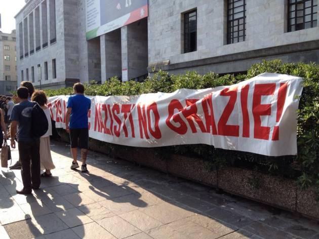 [News] Presidio antifascista al processo per i fatti del Manzoni
