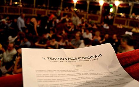 [DallaRete] Il Teatro Valle bene comune è in pericolo! Conferenza stampa martedì 29 Luglio h. 12:00