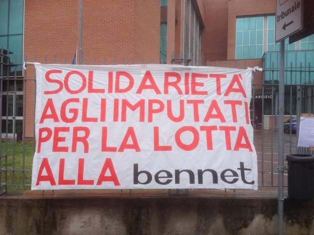 [DallaRete] Sentenza processo Bennet: scioperare non è reato, neanche nella logistica