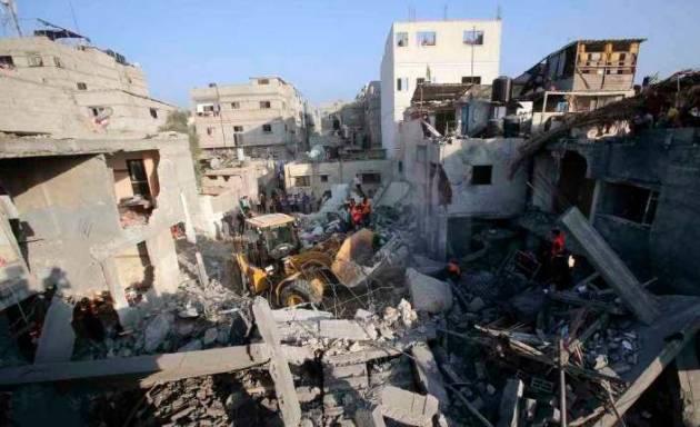 [DallaRete] Ancora bombe su Gaza, 1.113 morti 6.500 feriti