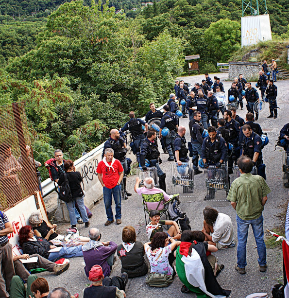 [DallaRete] Report di chiusura del campeggio itinerante