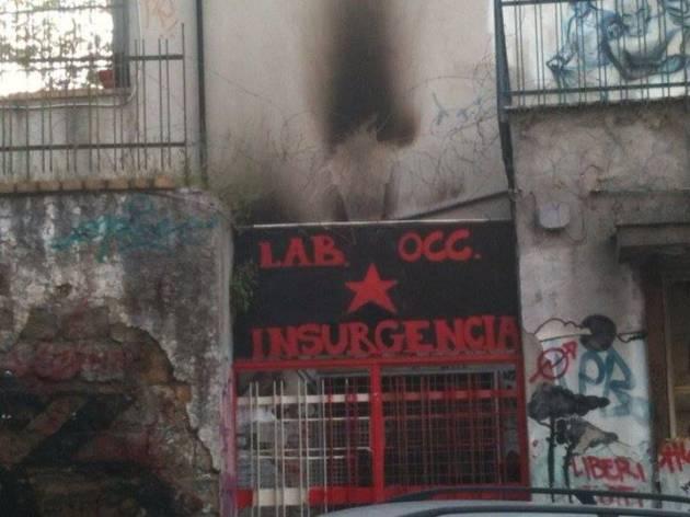 Se ci derubano e vandalizzano, rispondiamo: #IloveINSU