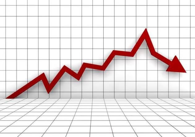 [DallaRete] L'Italia è in recessione: Pil in calo dello 0,2%