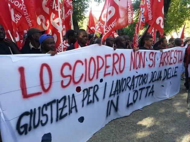 [DallaRete] Piacenza: in 1000 con i facchini Ikea e per il rilancio della lotta!