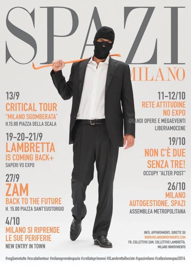 Collezione Spazi Milano: la campagna continua!
