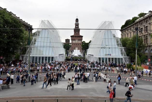 Milano prende spazio – Escalation Tour 2014 (la diretta)