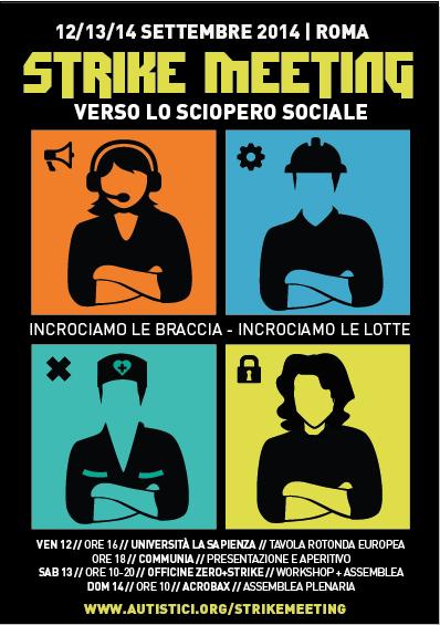 Batte il tempo dello sciopero sociale