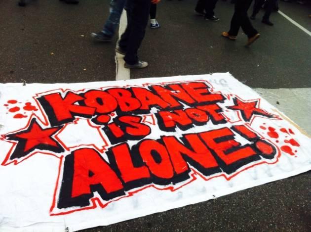 Kobane non è sola! Diretta (foto e video) da Milano!