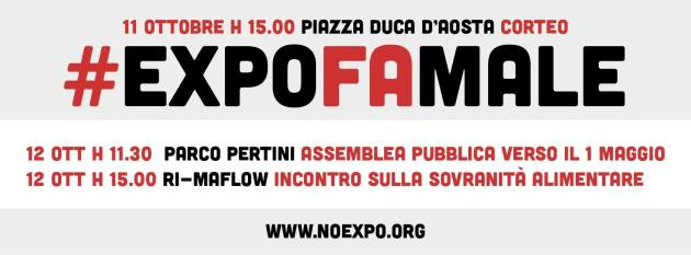 #ExpoFaMale – Corteo, sabato 11 Ottobre, Milano