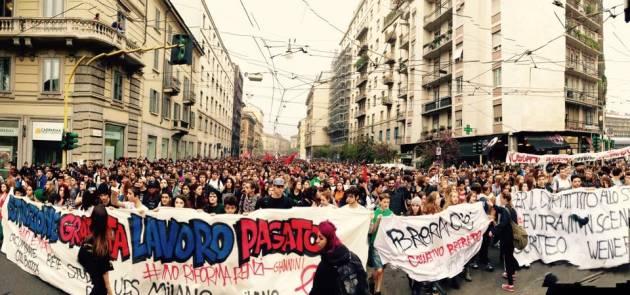 10 Ottobre, manifestazione studentesca – la diretta