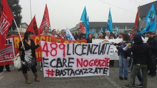 Basta cazzate – Lunedì di sciopero all'E-care di Cesano Boscone