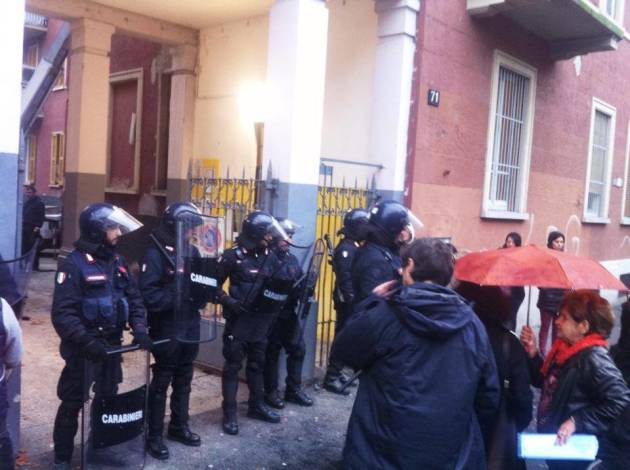 [News] Sgombero con lacrimogeni in Giambellino