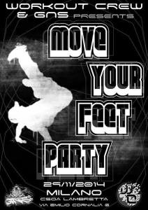 Workout crew & GNS present: ''MOVE YOUR FEET PARTY'' @CSOA LAMBRETTA @ CSOA LAMBRETTA  | Milano | Lombardia | Italia