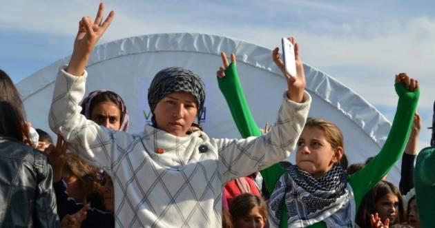 [DallaRete] Staffetta romana per Kobane: Mehser, la guerra oltre il confine