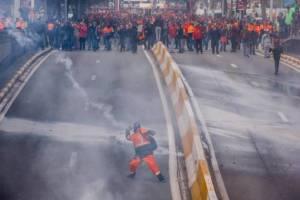 National Demonstration in Begium