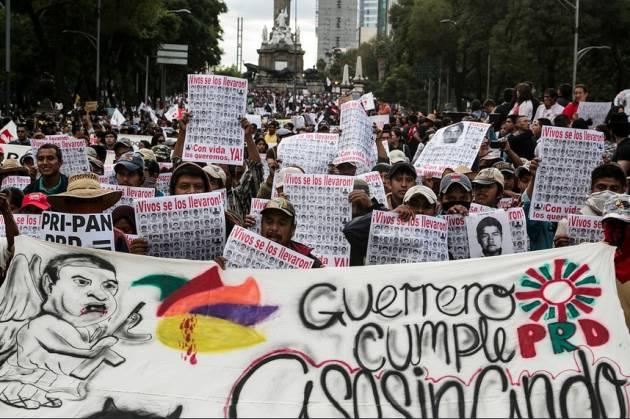 """[DallaRete] Messico / """"Fue el Estado"""""""