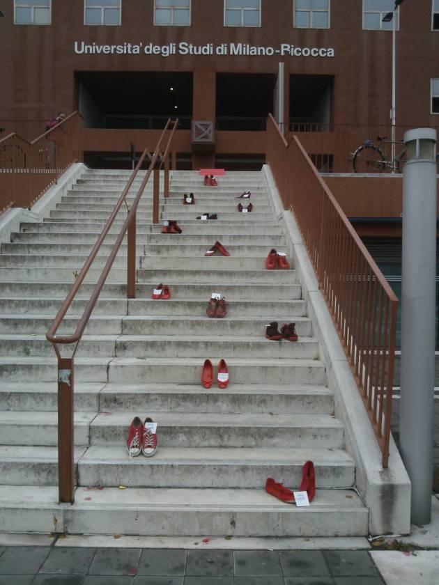 Zapatos Rojos, la marcia invisibile