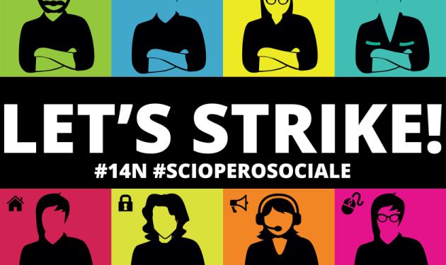 [DallaRete] Comunicato dei collaboratori e collaboratrici del Servizio Civile Internazionale 14 Novembre, scioperiamo anche noi