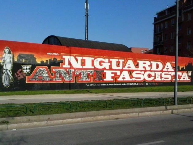 Deturpato il murales per Lia a Niguarda
