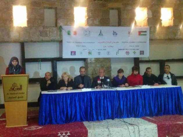 Comincia il festival Italia-Gaza_conferenza stampa d'apertura