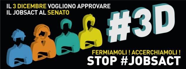 [News] Dalle iniziative a Roma contro l'approvazione del Jobs Act