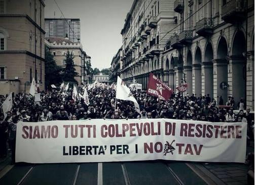 [DallaRete] NoTav, condanne a 140 anni di carcere per 2 manifestazioni