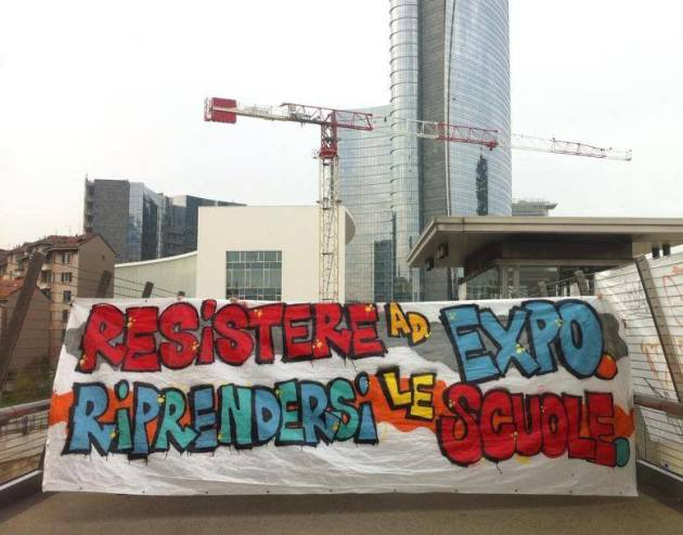 Appello per la costruzione di uno spazio politico studentesco No Expo!