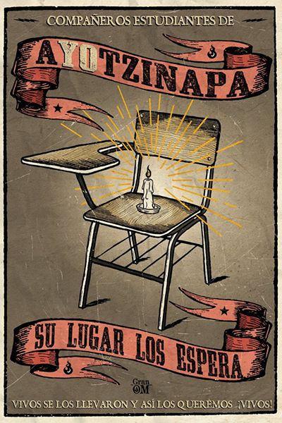 """[DallaRete] Messico – Il caso Ayotzinapa non si chiude. """"Non ci lasciate altra scelta che lottare"""""""