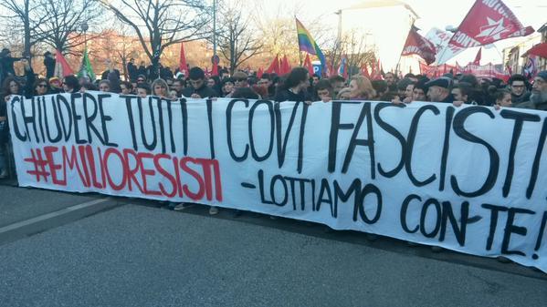 [News] In partenza il corteo antifascista di Cremona
