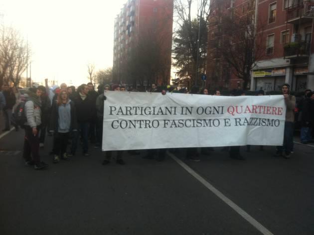 Oggi a Gratosoglio, contro il fascismo e per gli spazi sociali! (foto e video)