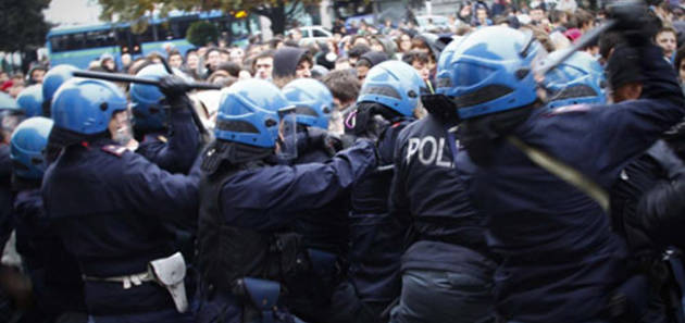 [DallaRete] Brescia: a dibattimento il processo a carico di 17 compagni per le cariche del 14/11/2012