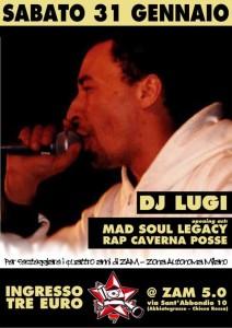 DJ LUGI for Happy B-Day ZAM @ Milano
