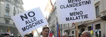 [DallaRete] La Lega gioca alla guerra: approvata legge regionale per impedire l'apertura di moschee in Lombardia