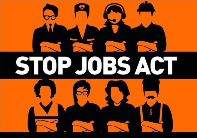 [DallaRete] I primi due decreti attuativi del Jobs Act. Il partito democratico getta la maschera