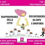 Dalla Rete di donne, froce, queer verso No Expo Pride 2015