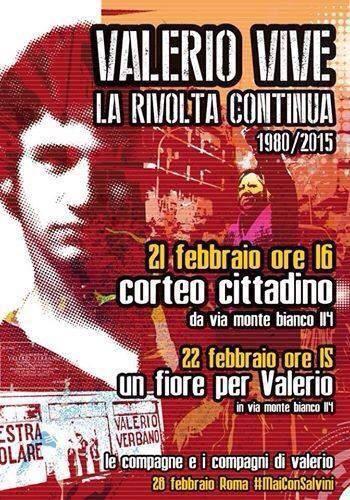 22 Febbraio 1980, l'omicidio fascista di Valerio Verbano
