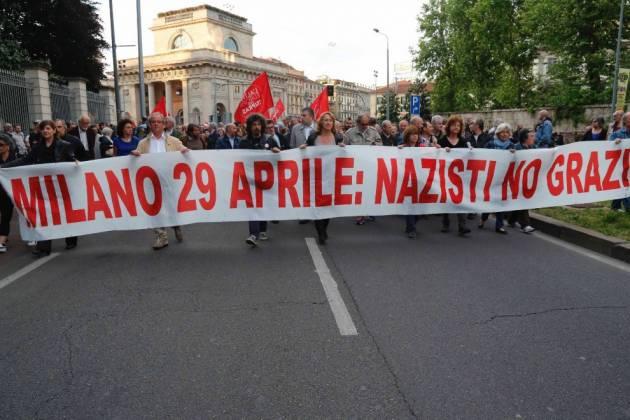 Gli antifascisti milanesi contro la parata nazifascista del 29 Aprile