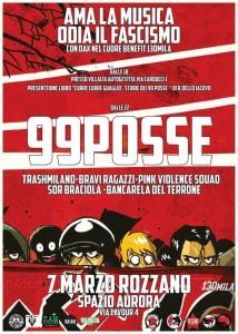 99 Posse @ Rozzano, Milano