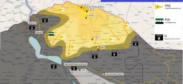 [Dalla Rete] Una richiesta di aiuti internazionali per ricostruire e normalizzare la vita nel Cantone di Kobane