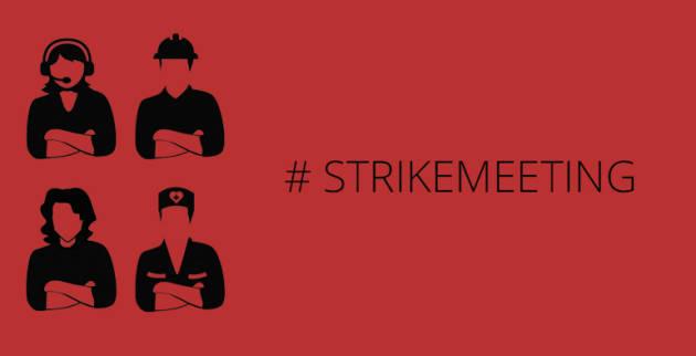 Alla conquista dell'organizzazione, verso il Social Strike europeo