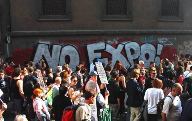 28 Marzo passeggiata NoExpo verso il 30 Aprile
