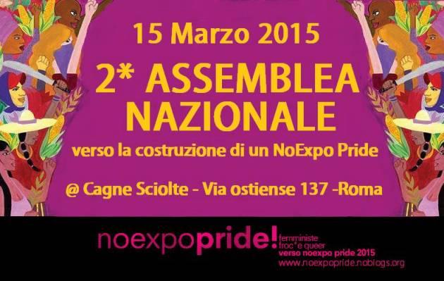 Né normali né sfruttate: seconda assemblea nazionale verso il NoExpo Pride, Roma 15 marzo
