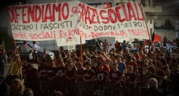 [DallaRete] Misure cautelari contro le realtà di movimento a Palermo