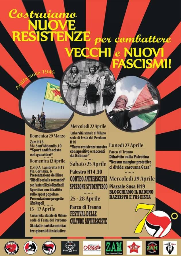 Costruiamo nuove resistenze per combattere vecchi e nuovi fascismi (25 Aprile 1945-25 Aprile 2015)