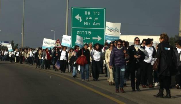 """[DallaRete] Dopo decenni di conflitto, le donne israeliane dicono: """"Ne abbiamo abbastanza"""""""